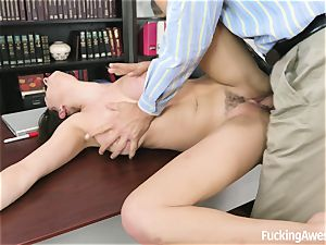 big-chested Ashley Adams Gets nailed by the tutor