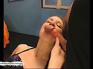 Teenie lil' anal cum nymph - German Goo damsels