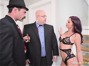 Monique Alexander - Do not rub my spouse! nicer take my excellent rump
