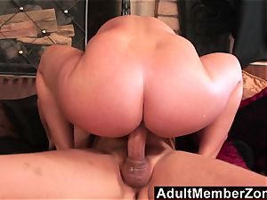 AdultMemberZone huge-chested ginger-haired wiggles her