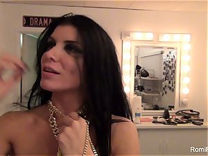 Behind the gigs with mind-blowing adult movie star Romi Rain