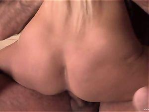 Boroka Borres gets her wet poon inserted