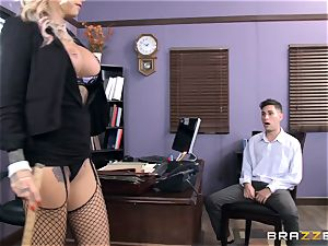 red-hot Headmistress Britney Shannon gets her hands on a wild schoolgirl