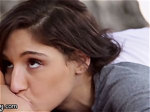 perverted Peeper Caught Abella Danger Getting Off in Public