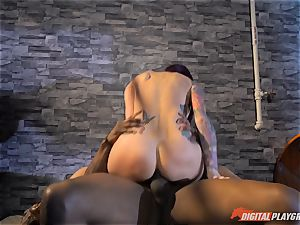 Monique Alexander vagina thrashed ball sack deep then creamed on her face by bbc