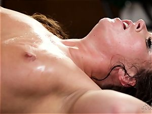 lady on girl with Maddy OReilly and Cadence Lux