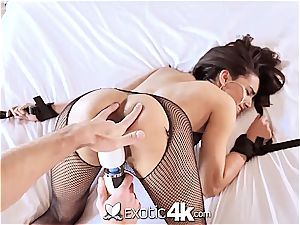 Exotic4k mexican Adrian Hush strapped up plow and creampie