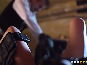 Madison Ivy is speared by a huge manhood