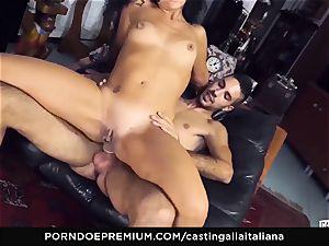 audition ALLA ITALIANA amateur blasts in anal invasion smash