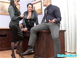 euro assfucking 3some with Anissa Kate