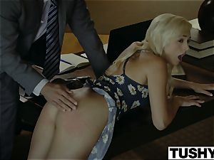 TUSHY.com insane blondie buttfuck pounded by her Therapist