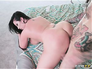 Sheridon love pummeled in her tight minge hole