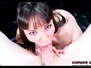ConorCoxxx- humungous dick cheating blowjob With Dana DeArmond