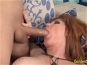 Mature sandy-haired Freya Fantasia Is torn up