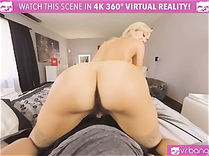 VRBangers.com-MILF is ramming a vibrator in her cunt