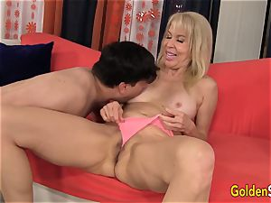 Mature lady Erica Lauren gets pounded